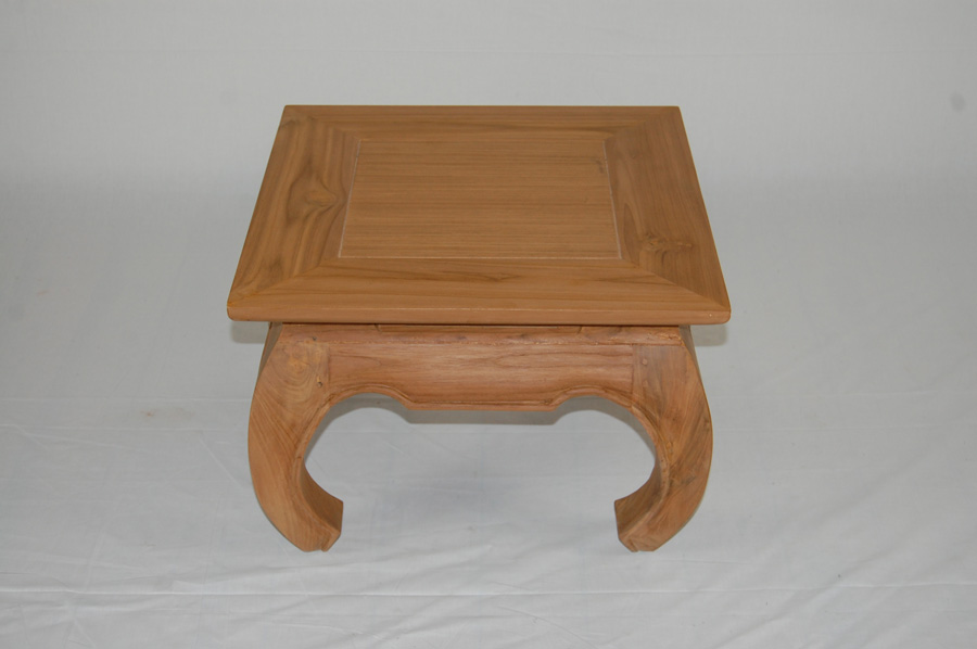 Bali Small Opium Coffee Table Teak Villa And Hut