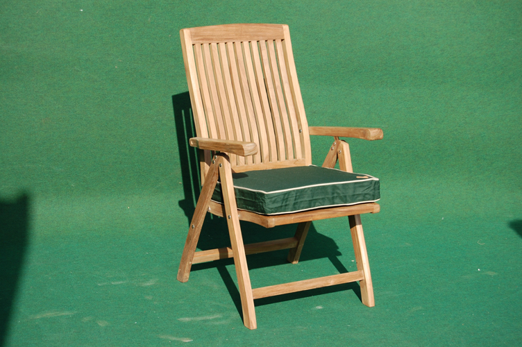 Teak Recliner Chair Villa And Hut